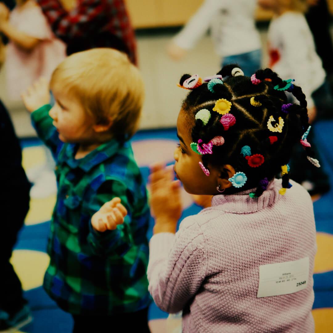 Kids enjoying their first visit at Springs Church