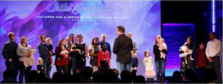 Child Dedication Calgary